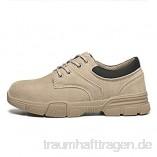 meng Sicherheitsschuhe Herren Damen Arbeitsschuhe Leicht Sportlich Sneaker Schutzschuhe mit Stahlkappe (Size : 40)