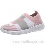 PMUYBHF Damen Schlupfschuhe Sneaker Schuhe Leicht Freizeit Sportschuhe Bequem Turnschuhe Herbst Sommer 2021 Günstige Sneakers Schlupfschuhe