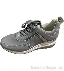 Keilschuh fur Damen  Bequem  Sommer Fallen 2021 Plateau Schuhe Sneakers