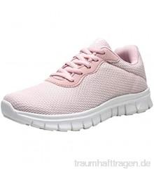 Sneaker Damen Sportschuhe Outdoor Schuhe Turnschuhe Laufschuhe Schnürer Freizeit Sportschuhe Atmungsaktiv Sneaker Gym Lace Up Freizeitschuhe Trainer Outdoor Sneaker Shoes