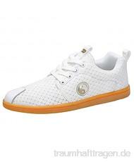 Meng Taekwondo Schuhe atmungsaktiv Kung Fu Tai Chi Sportschuhe for Erwachsene und Kinder (Color : White Size : 35)