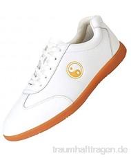 meng Taekwondo Schuhe Unisex Taekwondo Boxen Kung Fu Tai Chi Sport Gym Schuhe Für Kinder Erwachsene (Color : White Size : 41)