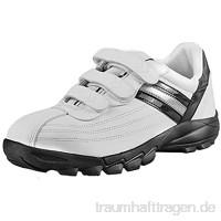 DDTX Sicherheitsschuhe Arbeitsschuhe Herren Unisex SB Stahlkappe Sportlich Leicht Klettverschluss Schwarz/Weiß