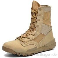 NA Männer Plus Größe Tactical Boots Schnürer High Top Wüstenwanderschuhe Jagd Kletter Trainer Military Arbeits Patrol Stiefel