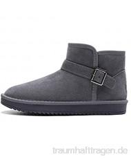 Schnees Stiefel Winter Schnee Ankle Fur Gefütterte Schuhe Im Freien Warme wasserdichte Männer Frauen Booties Anti-Slip