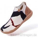 UIN The New Us Herren Chelsea Boots Stiefeletten Schlupfstiefel Kurzschaft StiefelLeicht Hausschuhe Painted Slip On Schuhe Reiseschuhe Lässiger Fashional Sneaker Segelschuhe